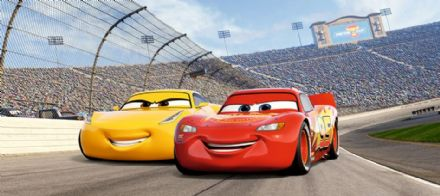 Cars 3 Disney Panoramic mural wallpaper 202x90cm